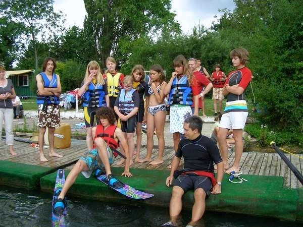 Journée initiation ski nautique